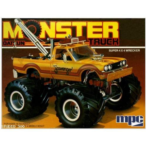 MPC 1975 Datsun Scavenger Monster Pickup 1:25 Scale Model Kit